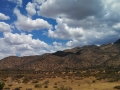 Clouds Over Mojave River Forks