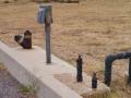 Typical Site Hookups at Mojave River Forks