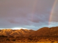 Rainbow at Mojave River Forks