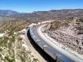 Train Entering Cajon Pass
