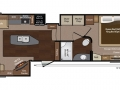 Montanta 3725RL Floor Plan