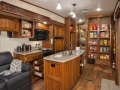 Montanta 3725RL Kitchen & Pantry - Open Cabinetes
