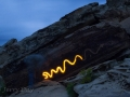Light-Painting-Snake-Petroglyph
