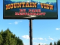 Mountain View RV Park Sign