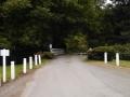 Bridge at entrance to Neskowin Creek RV Resort