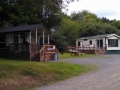 Rental cabins at Neskowin Creek RV Resort