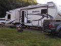 Our rig at Neskowin Creek RV Resort