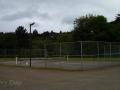 Tennis courts at Neskowin Creek RV Resort