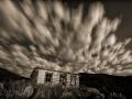 Bannack State Park/Ghost Town - Cabin - black & white