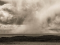Downburst in the Valley of the Gods
