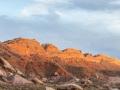 Comb Ridge At Sunset