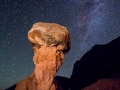 Comb Ridge Nightscape Hoodoo