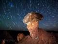 Comb Ridge Star Trails Hoodoo