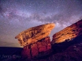 It's Duck Dodgers in the 24th-and-1/2 Century - Prepare for Lift-Off! - Spaceship Rock Nightscape #2 - Valley of the Gods