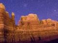 Locomotive Rock Nightscape #1, Bluff, Utah