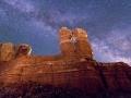 Twin Rocks Nightscape #2, Bluff, Utah