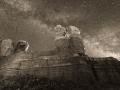 Twin Rocks Nightscape #1, Bluff, Utah