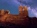 Twin Rocks Nightscape #3, Bluff, Utah