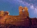Twin Rocks Nightscape #5, Bluff, Utah