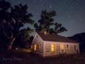 Night at Chew Ranch House - Dinosaur National Monument, Utah/Colorado