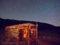 Night at Homestead along Echo Park Road - Dinosaur National Monument, Utah/Colorado