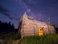 Potomac Ranch - Collapsed Log Barn