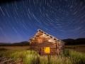 Potomac Ranch - Abandoned Log Cabin & Star Trails