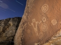 The Juggler Panel Star Trails, San Rafael Swell, Utah