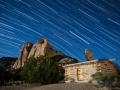 Swasey Cabin StarTrails, San Rafael Swell, Utah