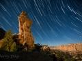 Broken Cross and Star Trails, San Rafael Swell, Utah