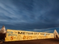 Moonrise at Meteor City Trading Post - Historic Route 66 - Winslow, AZ