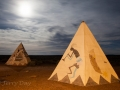 Teepees at Meteor City Trading Post - Historic Route 66 - Winslow, AZ