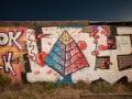 Graffiti at Two Guns Ghost Town - Historic Route 66 - Two Guns, AZ