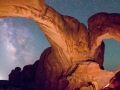 Double Arch Nightscape #2, Arches National Park, Utah