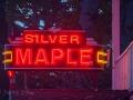 Silver Maple Hotel neon at Bridgeport, CA