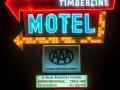 Timberline Motel Neon