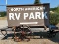 North American RV Park - Sign