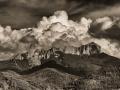 Chimney-Rock-Clouds-BW-2