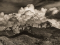 Chimney-Rock-Clouds-BW-3