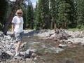 Kim-at-West-Fork-Stream