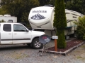 Our rig at Paradise Cove RV Resort