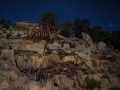 Masonic Mine Ruins by Night