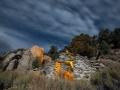 Masonic Mine Runis by Night