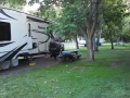 Our rig at Peach Beach RV Park