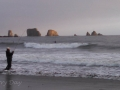 Fisherman and Surfers at Quileute Oceanside Resort