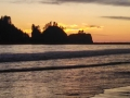 Sunset at Quileute Oceanside Resort