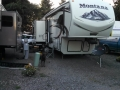 Our Rig at Rainbows End RV Park
