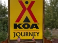 Rock Springs KOA - Sign