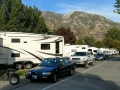 Springville / Provo KOA Journey - Parallel Parking at Sites