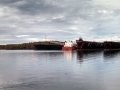 Ore ship at Two Harbors